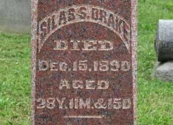 DRAKE, SILAS S. - Ashland County, Ohio | SILAS S. DRAKE - Ohio Gravestone Photos