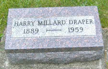 DRAPER, HARRY MILLARD - Ashland County, Ohio | HARRY MILLARD DRAPER - Ohio Gravestone Photos