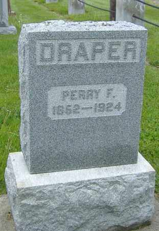 DRAPER, PERRY F. - Ashland County, Ohio | PERRY F. DRAPER - Ohio Gravestone Photos