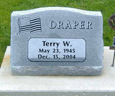 DRAPER, TERRY WALTON - Ashland County, Ohio | TERRY WALTON DRAPER - Ohio Gravestone Photos