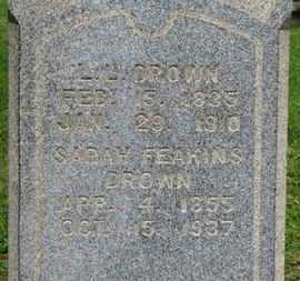 DROWN, SARAH - Ashland County, Ohio | SARAH DROWN - Ohio Gravestone Photos