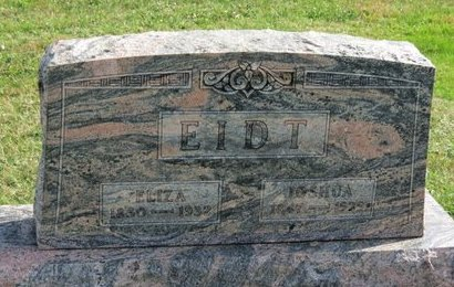 EIDT, ELIZA - Ashland County, Ohio | ELIZA EIDT - Ohio Gravestone Photos
