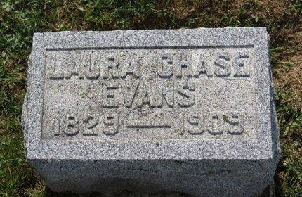 CHASE EVANS, LAURA - Ashland County, Ohio | LAURA CHASE EVANS - Ohio Gravestone Photos