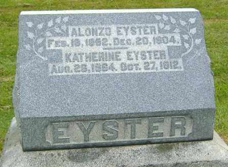 ACKERMAN EYSTER, KATHERINE - Ashland County, Ohio | KATHERINE ACKERMAN EYSTER - Ohio Gravestone Photos