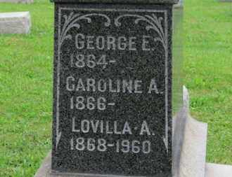 FARNSWORTH, CAROLINE A. - Ashland County, Ohio | CAROLINE A. FARNSWORTH - Ohio Gravestone Photos