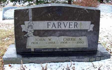 FARVER, CARRIE NAOMI - Ashland County, Ohio | CARRIE NAOMI FARVER - Ohio Gravestone Photos