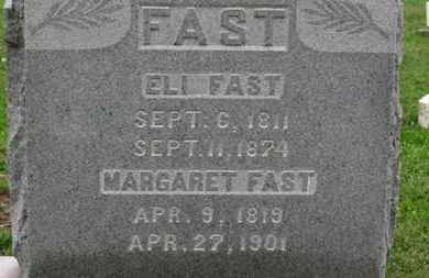 FAST, MARGARET - Ashland County, Ohio | MARGARET FAST - Ohio Gravestone Photos