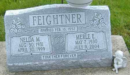 FEIGHTNER, MERLE E. - Ashland County, Ohio | MERLE E. FEIGHTNER - Ohio Gravestone Photos