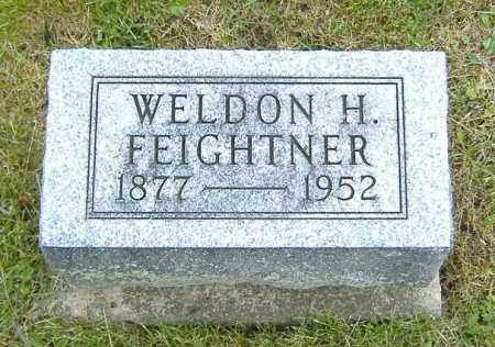 FEIGHTNER, WELDON HENRY - Ashland County, Ohio | WELDON HENRY FEIGHTNER - Ohio Gravestone Photos