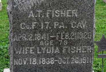 FISHER, LYDIA - Ashland County, Ohio | LYDIA FISHER - Ohio Gravestone Photos