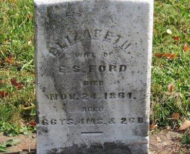 FORD, C.S. - Ashland County, Ohio | C.S. FORD - Ohio Gravestone Photos