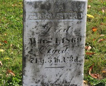 FORD, ELIJAH - Ashland County, Ohio | ELIJAH FORD - Ohio Gravestone Photos
