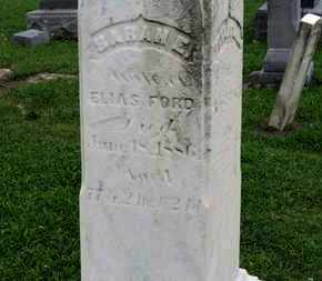 FORD, SARAH E. - Ashland County, Ohio | SARAH E. FORD - Ohio Gravestone Photos