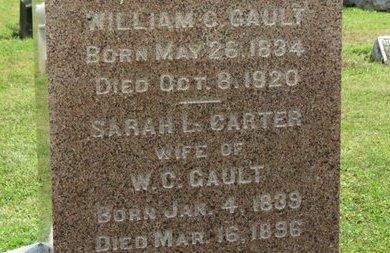 CARTER GAULT, SARAH L. - Ashland County, Ohio   SARAH L. CARTER GAULT - Ohio Gravestone Photos