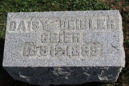 DEIBLER GEIER, DAISY - Ashland County, Ohio | DAISY DEIBLER GEIER - Ohio Gravestone Photos