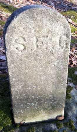 GRISSLING, SARAH E. - FOOTSTONE - Ashland County, Ohio | SARAH E. - FOOTSTONE GRISSLING - Ohio Gravestone Photos