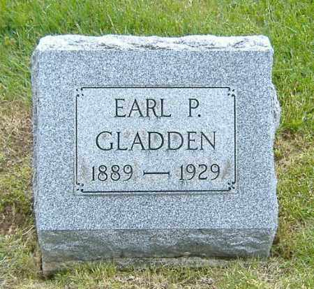 GLADDEN, EARL PETERSON - Ashland County, Ohio | EARL PETERSON GLADDEN - Ohio Gravestone Photos