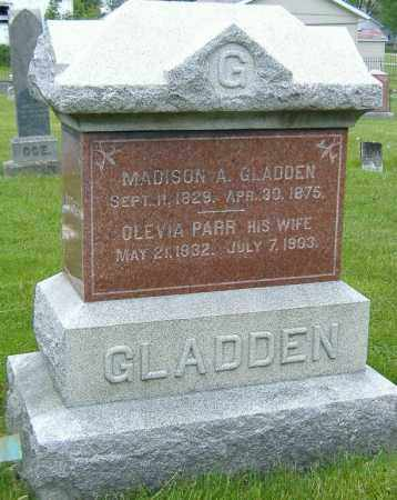 GLADDEN, MADISON ACHILLES - Ashland County, Ohio | MADISON ACHILLES GLADDEN - Ohio Gravestone Photos
