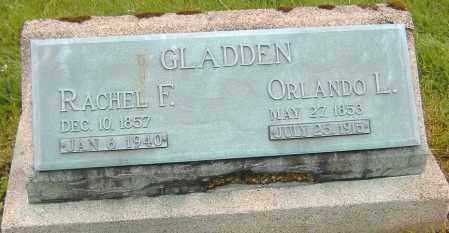 SNYDER GLADDEN, RACHEL F. - Ashland County, Ohio | RACHEL F. SNYDER GLADDEN - Ohio Gravestone Photos