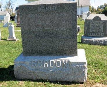 GORDON, DAVID - Ashland County, Ohio | DAVID GORDON - Ohio Gravestone Photos