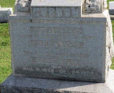 COLE GORDON, RACHEL - Ashland County, Ohio | RACHEL COLE GORDON - Ohio Gravestone Photos