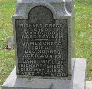 GREGG, JANE - Ashland County, Ohio | JANE GREGG - Ohio Gravestone Photos