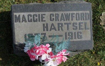 CRAWFORD HARTSEL, MAGGIE - Ashland County, Ohio | MAGGIE CRAWFORD HARTSEL - Ohio Gravestone Photos