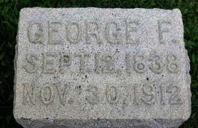 HIPP, GEORGE F. - Ashland County, Ohio | GEORGE F. HIPP - Ohio Gravestone Photos