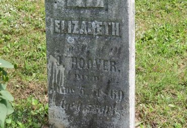 HOOVER, J. - Ashland County, Ohio | J. HOOVER - Ohio Gravestone Photos