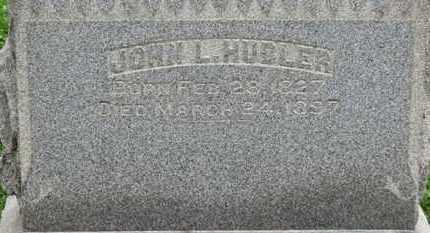 HUBLER, JOHN L. - Ashland County, Ohio | JOHN L. HUBLER - Ohio Gravestone Photos