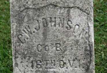 JOHNSON, C.W. - Ashland County, Ohio   C.W. JOHNSON - Ohio Gravestone Photos
