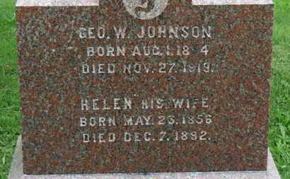 JOHNSON, HELEN - Ashland County, Ohio | HELEN JOHNSON - Ohio Gravestone Photos