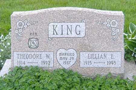 KING, THEODORE WILLIAM - Ashland County, Ohio | THEODORE WILLIAM KING - Ohio Gravestone Photos