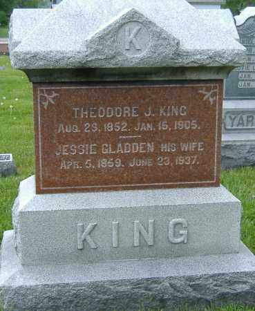 KING, THEODORE J. - Ashland County, Ohio | THEODORE J. KING - Ohio Gravestone Photos