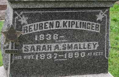 SMALLEY KIPLINGER, SARAH A. - Ashland County, Ohio | SARAH A. SMALLEY KIPLINGER - Ohio Gravestone Photos