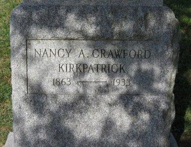 CRAWFORD KIRKPATRICK, NANCY A. - Ashland County, Ohio | NANCY A. CRAWFORD KIRKPATRICK - Ohio Gravestone Photos