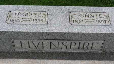 LIVENSPIRE, JOHN E. - Ashland County, Ohio | JOHN E. LIVENSPIRE - Ohio Gravestone Photos