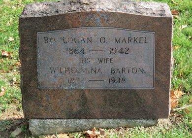 BARTON MARKEL, WILHELMINA - Ashland County, Ohio | WILHELMINA BARTON MARKEL - Ohio Gravestone Photos