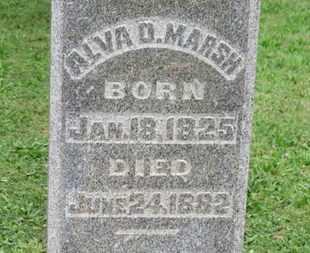 MARS, ALVA D. - Ashland County, Ohio | ALVA D. MARS - Ohio Gravestone Photos