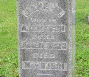 MARSH, JANE M. - Ashland County, Ohio | JANE M. MARSH - Ohio Gravestone Photos