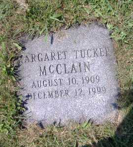 TUCKER MCCLAIN, MARGARET - Ashland County, Ohio | MARGARET TUCKER MCCLAIN - Ohio Gravestone Photos