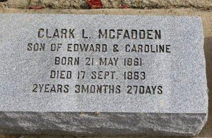 MCFADDEN, CLARK L. - Ashland County, Ohio | CLARK L. MCFADDEN - Ohio Gravestone Photos