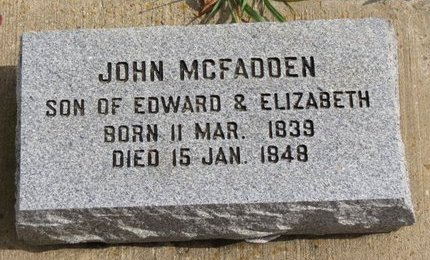 MCFADDEN, EDWARD - Ashland County, Ohio | EDWARD MCFADDEN - Ohio Gravestone Photos