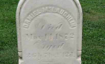 MCLAUGHLIN, DANIEL - Ashland County, Ohio | DANIEL MCLAUGHLIN - Ohio Gravestone Photos
