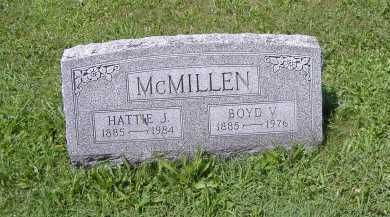 MCMILLAN, HATTIE J. - Ashland County, Ohio | HATTIE J. MCMILLAN - Ohio Gravestone Photos