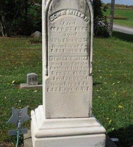 MILLAR, DENTON O. - Ashland County, Ohio   DENTON O. MILLAR - Ohio Gravestone Photos