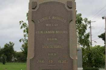 MOORE, EUNICE  NORRIS - Ashland County, Ohio | EUNICE  NORRIS MOORE - Ohio Gravestone Photos