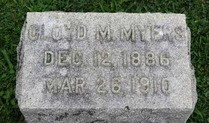 MYERS, CLOYD M. - Ashland County, Ohio | CLOYD M. MYERS - Ohio Gravestone Photos