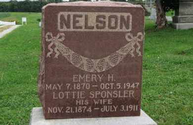 SPONSELER NELSON, LOTTIE - Ashland County, Ohio | LOTTIE SPONSELER NELSON - Ohio Gravestone Photos