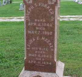MEEKER PARKER, LAURA E. - Ashland County, Ohio | LAURA E. MEEKER PARKER - Ohio Gravestone Photos
